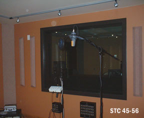 Soundproof Acoustical Windows For Recording Studios